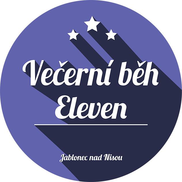 Logo ELEVEN Večerní běh